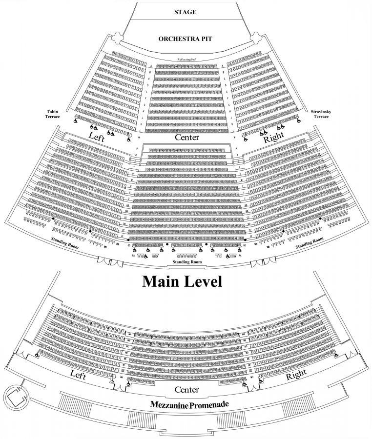 Detailed Seat Map
